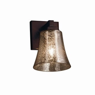 Justice Design Group Fusion Regency Bronze Wall Sconce