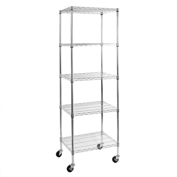 Seville Classics Ultrazinc Steel Wire 5 Shelf Storage System Free Shipping Today Overstock