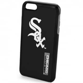 Forever Collectibles Chicago White Sox Black MLB Licensed Dual Hybrid Case for Apple iPhone 6/6S|https://ak1.ostkcdn.com/images/products/11911077/P18803148.jpg?impolicy=medium