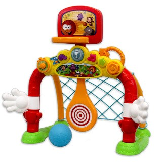 Winfun 4-in-1 Fun Goal Set Toddler Activity Toy