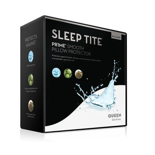 Malouf Sleep Tite Pr1me Smooth Pillow Protector (Set of 2)