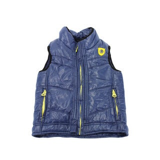 Diesel Boy's Blue Nylon Sleeveless Outerwear