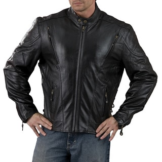 Men's Side Lace Vented Scooter Jacket