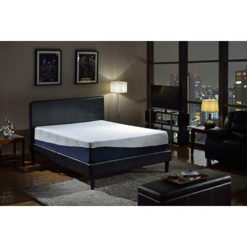 Swiss Ortho Sleep 13-inch King-size Gel Memory Foam Mattress