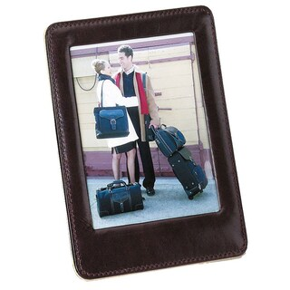 Good Hope Leather 4-inch x 5-inch Cowhide Table Picture Frame