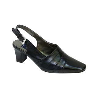 FIC PEERAGE Susie Women's Extra Wide Slingback Pumps