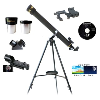 SmartScope 700-millimeter x 60-millimeter Telescope with Smartphone Adapter
