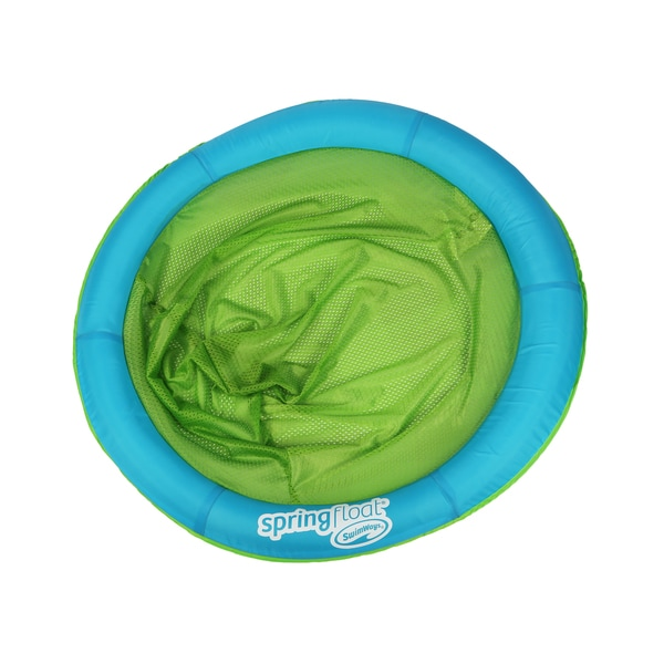 SwimWays Green/Blue Papasan Float