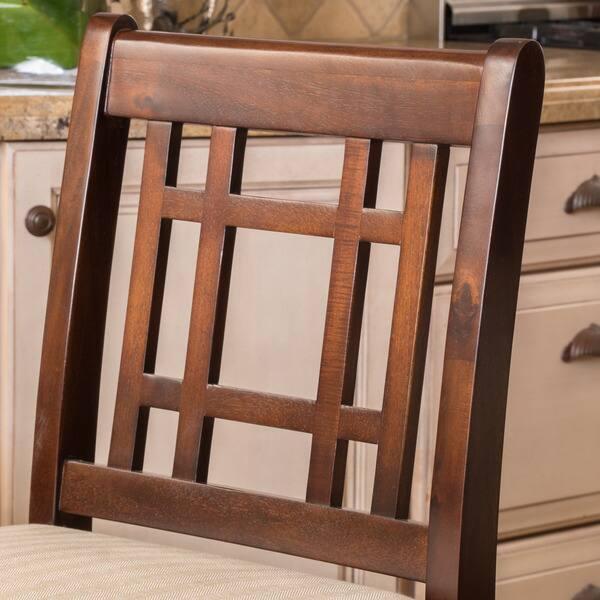 Fabulous Shop Nadia Acacia 26 Inch Wood Counter Stool Set Of 2 By Inzonedesignstudio Interior Chair Design Inzonedesignstudiocom