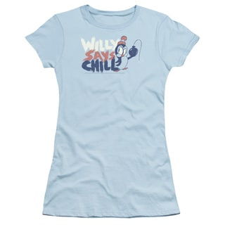 Chilly Willy/I Say Chill Junior Sheer in Light Blue