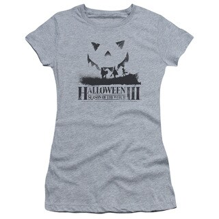 Halloween Iii/Silhouette Junior Sheer in Heather