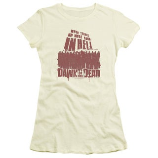 Dawn Of The Dead/ No More Room Junior Sheer in Cream