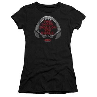 Jaws/This Shark Junior Sheer in Black