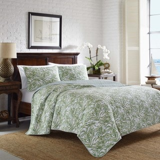 Tommy Bahama Skipper Sound Mineral Cotton Quilt Set