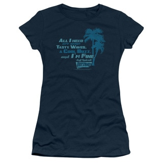 Fast Times Ridgemont High/All I Need Junior Sheer in Navy