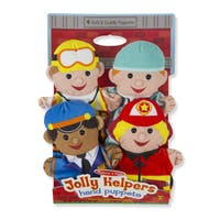 JOLLY HELPERS HAND PUPPETS     TOYSPUPPETS & PLUSH PUPPETS