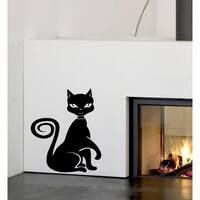 Funny cat Wall Art Sticker Decal