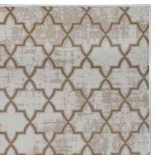 Admire Home Living Plaza Links Area rug (7'10 x 10'6)