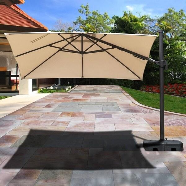 Aluminum Patio Umbrella With Base