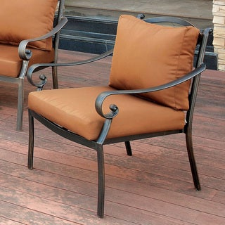 Furniture of America Volla Contemporary Outdoor Arm Chair
