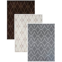Admire Home Living Plaza Brazil Style Area rug - 7'10 x 10'6