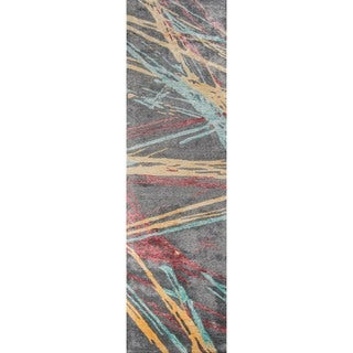 Hand-Tufted Delta Multi VIscose Rug (2'3 x 8)