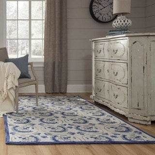Hand-Hooked Copia Adelaide Polyester Rug (2'3 x 7'6)
