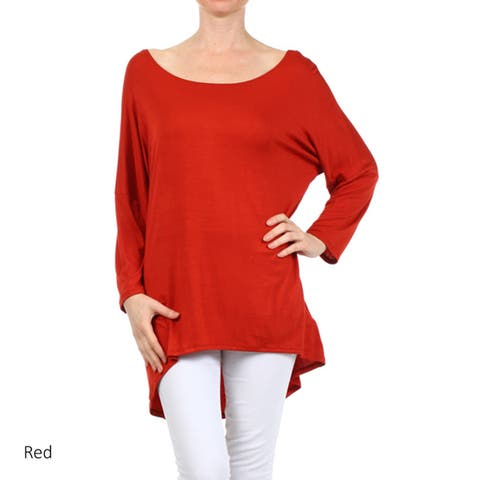 0c7ccf2b Red, Dolman Sleeve Tops | Find Great Women's Clothing Deals Shopping ...