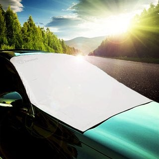 Zone Tech Reversible Car Windshield Cover Protector
