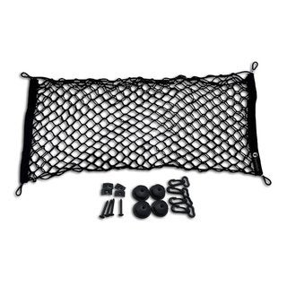 Zone Tech Black Mesh Vehicle Trunk Cargo Net