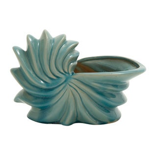 Blue Seashell Planter
