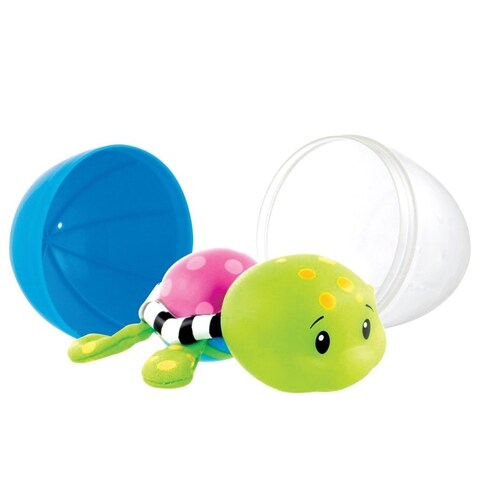 Sassy Green Tiny Tubtime Turtles