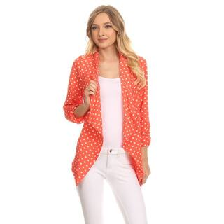 MOA Collection Women's Polka Dot Cardigan https://ak1.ostkcdn.com/images/products/11914633/P18806278.jpg?impolicy=medium