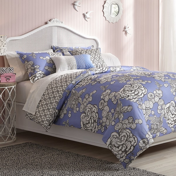 Collier Campbell Hummingbird Toile Comforter Set
