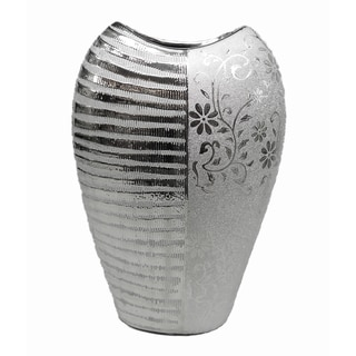D'Lusso Designs Lauren Collection 12-inch Deco Vase