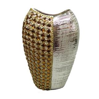 D'Lusso Designs Melanie Collection 12-inch Deco Vase
