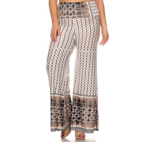 MOA Collection Women's Plus Size Casual Pants
