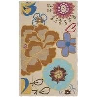 Safavieh Hand-Hooked Four Seasons Ivory / Multi Polyester Rug - 2'3 x 3'9