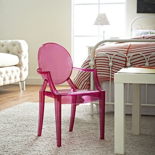 Casper Pink Polycarbonate Kids' Chair