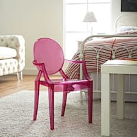 Legare Furniture Pink Finish Bent Ply Chair Free