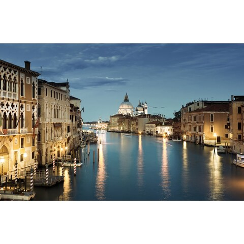 Cortesi Home 'Venice' Tempered Glass Wall Art