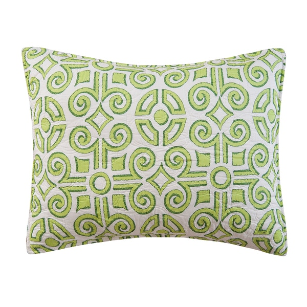 Boxwood Abbey Cotton Standard-size Pillow Sham