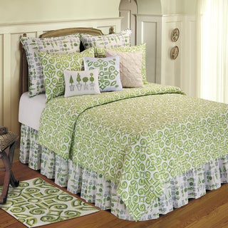 Boxwood Abbey Cotton Quilt (Shams Not Included)