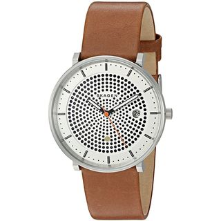 Skagen Men's SKW6277 'Hald Solar' Brown Leather Watch