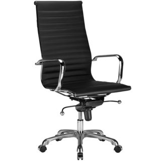 Oliver & James Sardar Ribbed High Back Office Chair