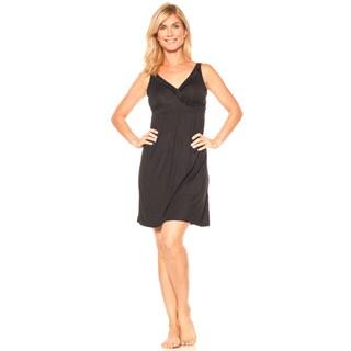 Rhonda Shear Indulge Women's CozyKnit Crossover Gown