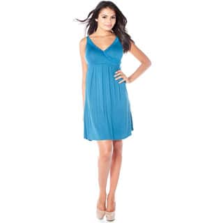 Rhonda Shear Indulge Women's CozyKnit Crossover Gown|https://ak1.ostkcdn.com/images/products/11914856/P18806410.jpg?impolicy=medium