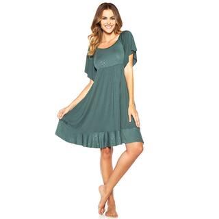 Rhonda Shear Women's Shimmer Sleep Gown|https://ak1.ostkcdn.com/images/products/11914859/P18806412.jpg?impolicy=medium