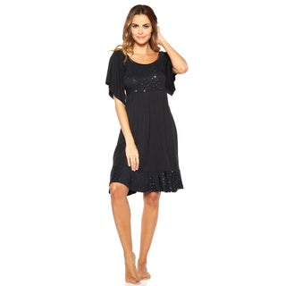 Rhonda Shear Women's Shimmer Sleep Gown (More options available)