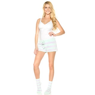 Rhonda Shear Women's Marshmallow Drawstring Pajama Short